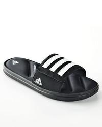adidas Zeitfrei Sandals Black White All Size 7 8 9 10 11 12 13 14