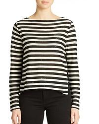 Sequin stripe top medium 208494