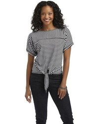 Metaphor Petites Knit Top Striped