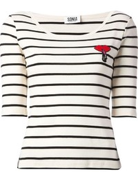 Sonia by striped t shirt medium 1359382
