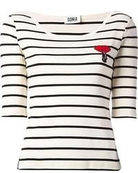 Sonia Rykiel Sonia By Striped T Shirt