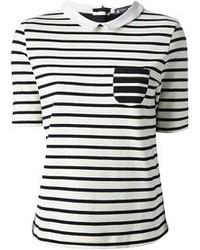 Petit Bateau Striped Polo Shirt