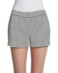 Bcbgmaxazria striped knit shorts medium 77564