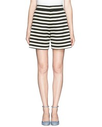Nobrand High Waist Stripe Shorts