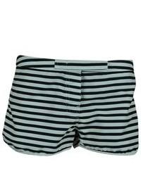 Pret A Surf Striped Mini Velcro Surf Shorts