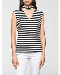 Striped cut out top medium 3650330