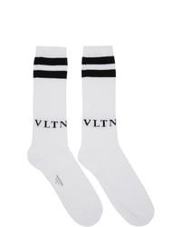 Valentino Black Garavani Vltn Socks