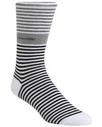 Calvin Klein Bold Striped Cuff Socks