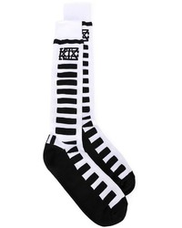 Kokon to zai ktz over the knee striped socks medium 295787