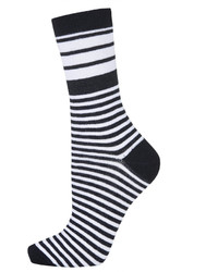Topshop Striped Ankle Socks