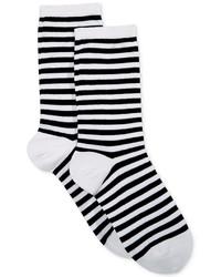 Hot Sox Thin Stripe Crew Socks