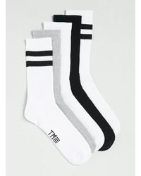 Topman Striped Tube Socks 5 Pack