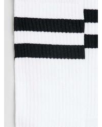 347d63657 Topman White Tube Socks With Black Stripes, $6 | Topman | Lookastic.com