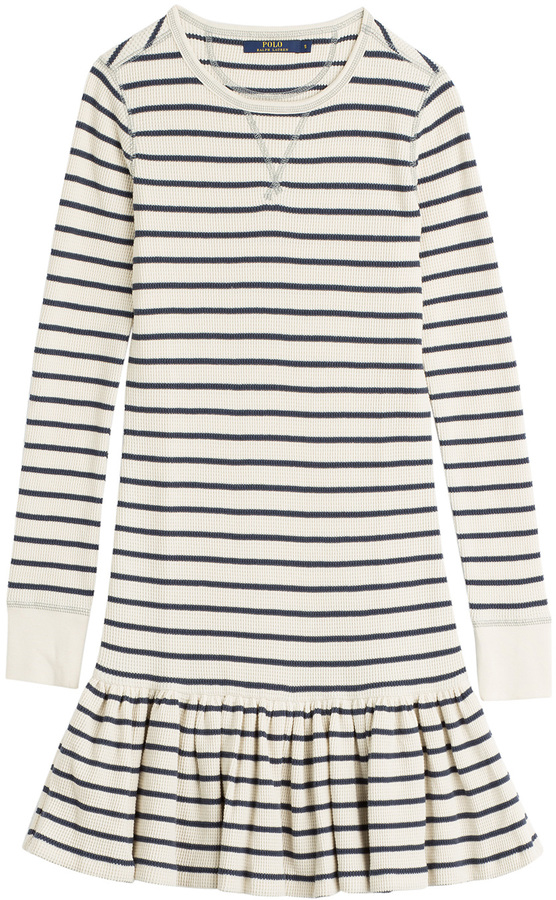 ... Black Horizontal Striped Sweater Dresses Polo Ralph Lauren Striped  Cotton Sweater Dress ...