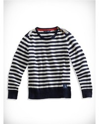 GUESS Striped Long Sleeve Sweater