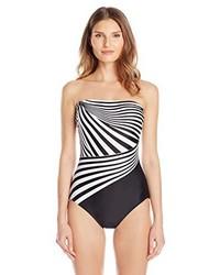 Gottex Illusion Bandeau One Piece Swimsuit