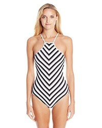 Seafolly Coast To Coast High Neck Maillot One Piece Swimsuit