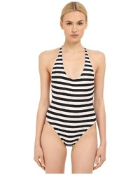 Strappy crossback maillot one piece medium 562951