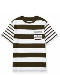 Ralph Lauren Childrenswear Boys Striped Cotton Jersey Tee