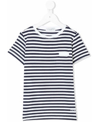Paolo Pecora Kids Striped Short Sleeve T Shirt