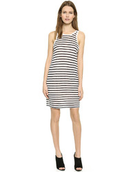 T by striped tank dress medium 418122