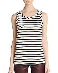 Belstaff Cari Striped Seamed Tank