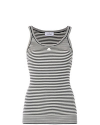 Courrges striped tank top medium 7736119