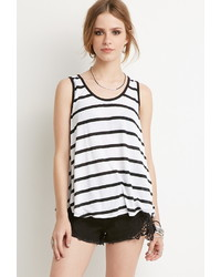 Forever 21 Striped Trapeze Tank