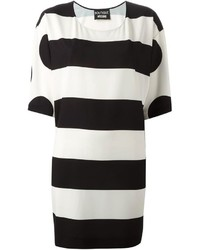 Moschino Boutique Stripe And Polka Dot Tunic
