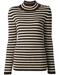 Bouchra Jarrar Striped Sweater