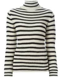 IRO Striped Turtleneck Sweater
