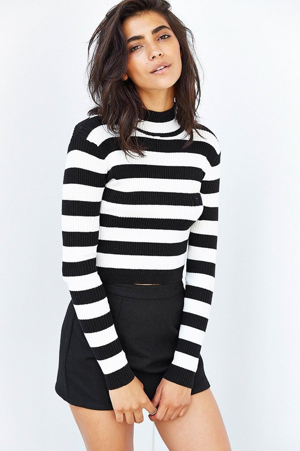 MinkPink Montmarte Cropped Turtleneck Sweater | Where to buy & how ...
