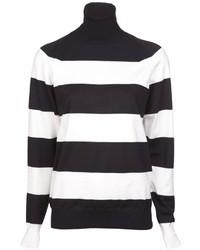 Stella McCartney Striped Turtleneck Sweater