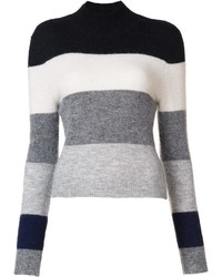Equipment Turtleneck Striped Jumper
