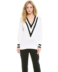 Rag bone talia v neck sweater medium 53504