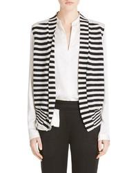 Haider Ackermann Stripe Knit Silk Vest