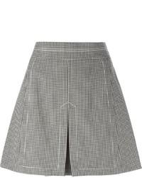 Chloé Houndstooth Print Skirt