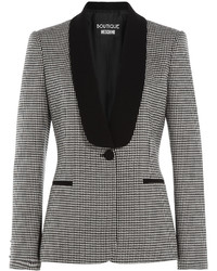 Boutique houndstooth blazer medium 426456