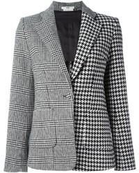 Edun Houndstooth Pattern Blazer