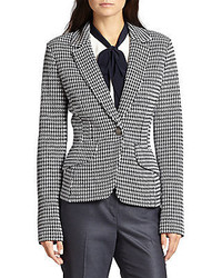 St john houndstooth jacket medium 426457