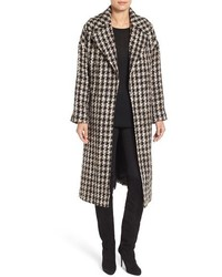 Charles gray london tweed longline clutch coat medium 1160007