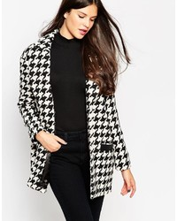 Girls On Film Houndstooth Coat