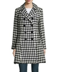 Houndstooth double breasted princess coat medium 1159984