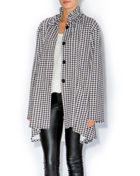 Louti Houndstooth Coat