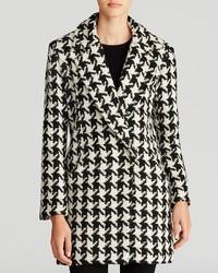 Lucy Paris Coat Houndstooth