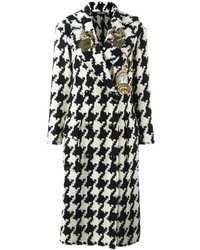 Wonderland patch houndstooth coat medium 1159998