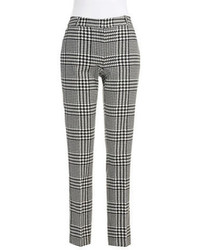 ca678a48e5bbdc White and Black Houndstooth Dress Pants for Women | Women's Fashion ...