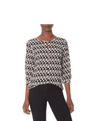 The limited houndstooth blouse medium 339151