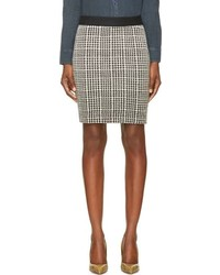 Black and white houndstooth buster skirt medium 84810