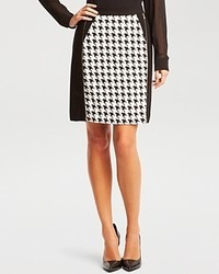 Kenneth Cole New York Justina Houndstooth Skirt